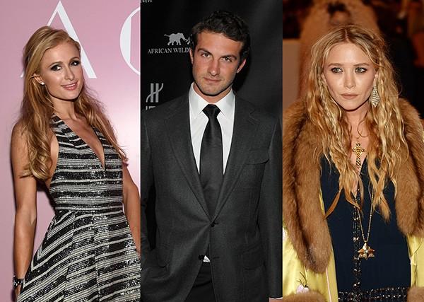 Paris Hilton, Stavros Niarchos III, Mary-Kate Olsen (Foto: Getty Images)