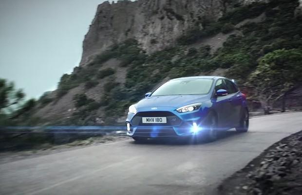Ford revela primeiro vídeo do Focus RS (Foto: Reprodução)