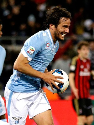 Álvaro González lazio gol milan (Foto: Agência AP)