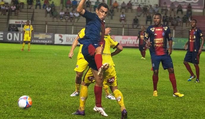Atlético de Ibirama x Marcílio Dias Marcio Careca (Foto: Orlando Pereira/CAHA)