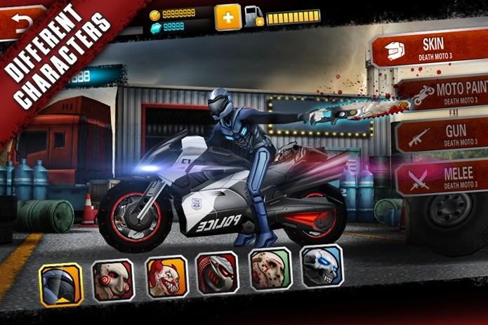 Game de moto no estilo Road Rash é um dos destaques da semana (Foto: Divulgação)