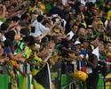 Bob Marley no trem, bandeiras, amor... Torcida por Bolt une Brasil e Jamaica