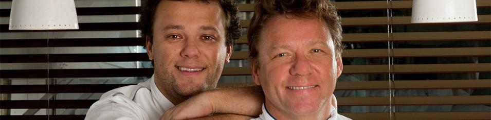 Claude e Thomas Troisgros, do Olympe (Foto: Divulgação)