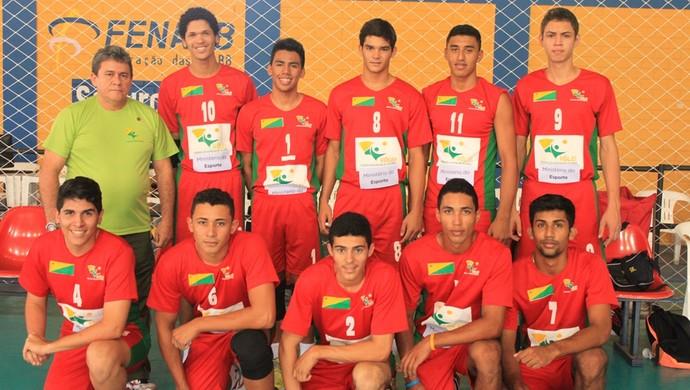 Seleção Acrena de Vôlei Masculino Sub-20 (Foto: James Pimentel/CDL)