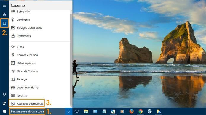 Configure a Cortana para sincronizar tudo (Foto: Reprodução)