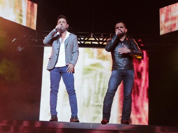Zeze e Luciano (Foto: Orlando Oliveira/AgNews)