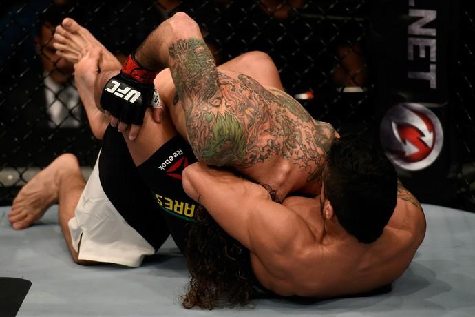 Thiago Tavares Clay Guida UFC São Paulo MMA (Foto: Getty Images)