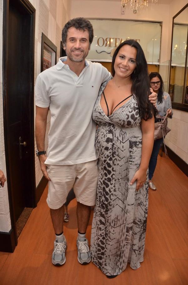 Andréa Leal fala sobre a gravidez do segundo filho com Eriberto Leão  (Foto: Agnews)