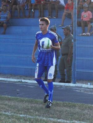 Rian, lateral esquerdo do Parnahyba (Foto: Wenner Tito)