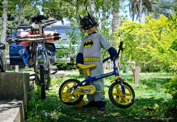 Bernardo, super-herói de Ilha Bela (SP) (Foto: Felipe Baenninger)