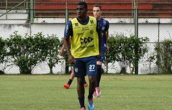 Felipe Alves espera aproveitar chance no Tupi-MG contra o Caxias