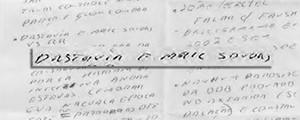 Bilhete de Marcelo Odebrecht fala  em 'destruir e-mail' (Bilhete de Marcelo Odebrecht fala  em 'destruir e-mail' (Reprodução))