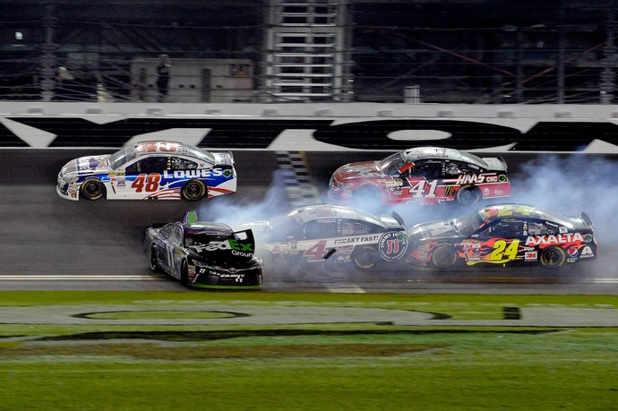 Acidente Nascar Daytona (Foto: Getty Images)