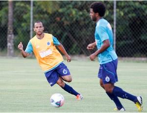 Ananias, treino, Cruzeiro, Toca da Raposa II (Foto: Washington Alves / Vipcomm)