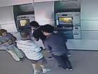 Dois homens são presos suspeitos de aplicar golpe em banco de Goiânia