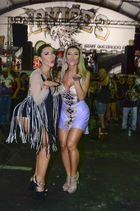 Tatiane Minerato e Ana Paula Minerato (Foto: Leo Franco / AgNews)
