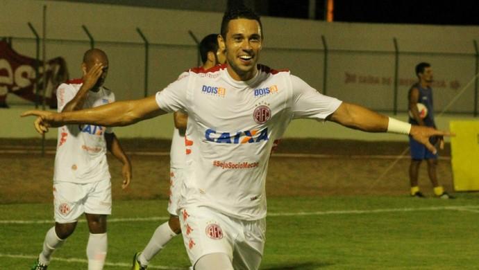 Júnior Timbó - meia do América-RN (Foto: Canindé Pereira/Divulgação)