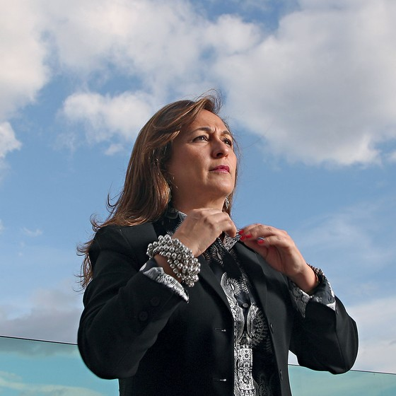 A senadora Kátia Abreu (PMDB-TO) (Foto: Adriano Machado/Ed. Globo)
