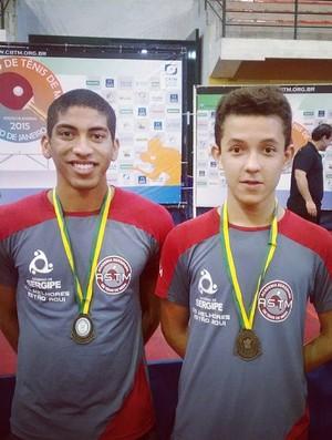 Danylo Antonio e Guilherme Almico (Foto: Divulgação/ASTM)