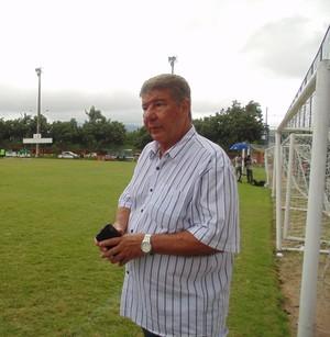 Joel Santana, técnico do Boavista (Foto: Gustavo Garcia/GloboEsporte.com)