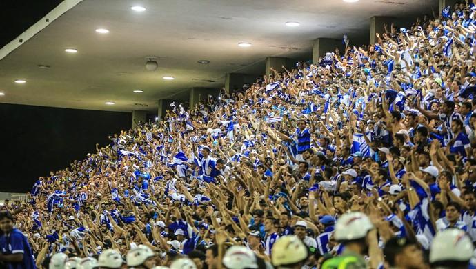 CSA x Ituano Rei Pelé torcida do CSA (Foto: Ailton Cruz / Gazeta de Alagoas)