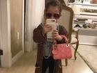 Filha de 2 anos de Wesley Safadão usa bolsa de R$ 8 mil em 'look do dia'