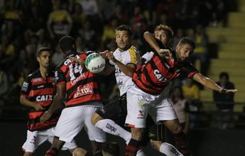 Atlético-GO bate o Criciúma no fim e mantém vantagem sobre o Vasco