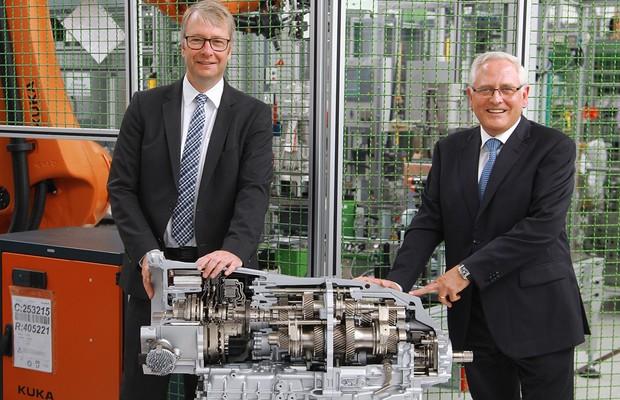 ZF inicia produção de nova transmissão de dupla embreagem e oito velocidades (Foto: Divulgação)