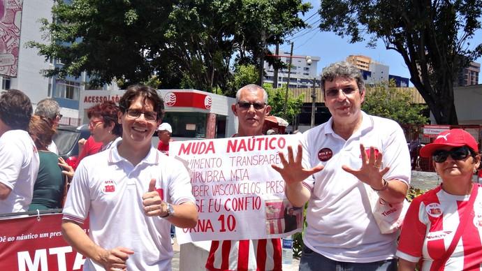 Glauber Vasconcelos - Náutico (Foto: Thiago Augustto)