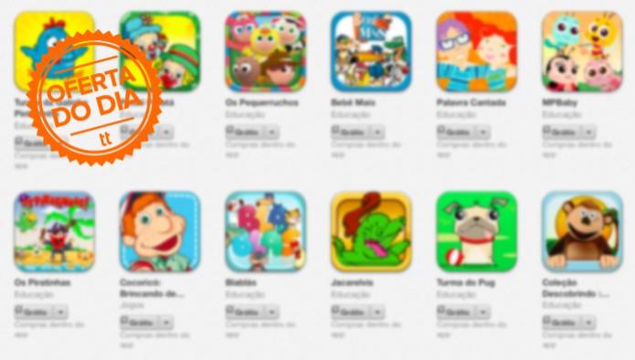 Apple e Amazon oferecem apps gratuitos e com desconto no Dia das Crianças (Foto: Reprodução)
