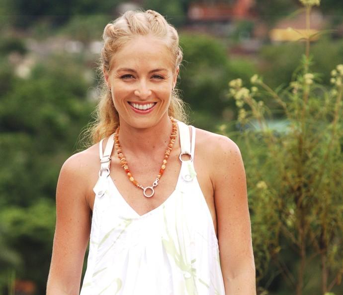 Angélica abre sorriso em 2007 (Foto: CEDOC / TV Globo)