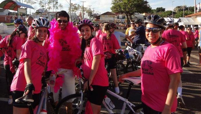 Pedal da Luluzinha Araxá 2012 (Foto: Caroline de Castro/Arquivo Pessoal)