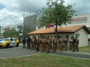 Operação Natal começou nesta segunda-feira (1º) (Foto: Polícia Militar / Divulgação)