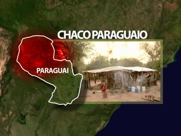 Região corresponde a 60% do país e se assemelha ao semiárido nordestino. (Foto: Reprodução/ TV Asa Branca)