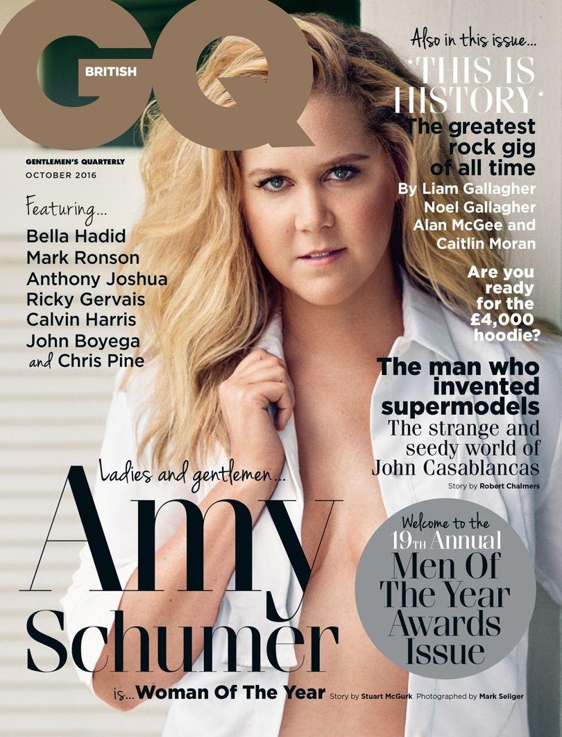 Amy Schumer  (Foto: Reprodução/GQ )