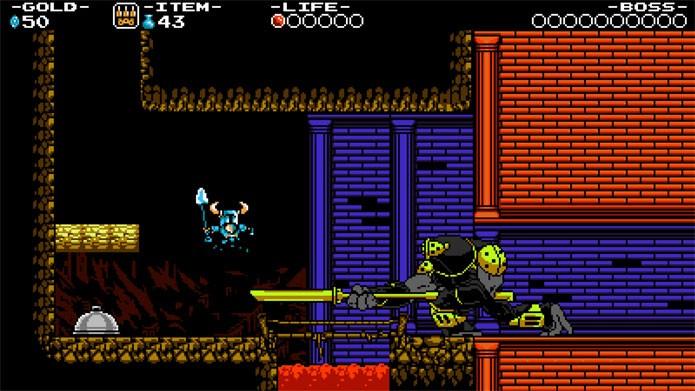 Shovel Knight ganha versão no PS4 (Foto: Divulgação)