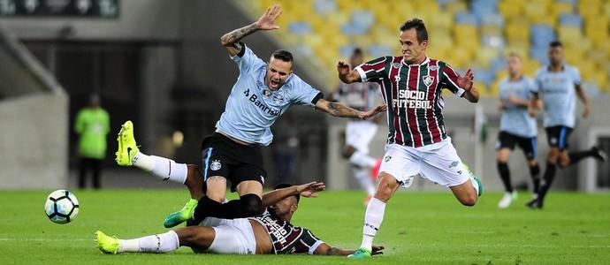 Fluminense x Grêmio (Foto: Futura Press)
