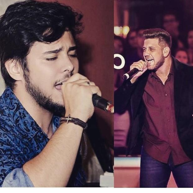 Renato Vianna e Renan Ribeiro (Foto: Reprodução / Instagram)