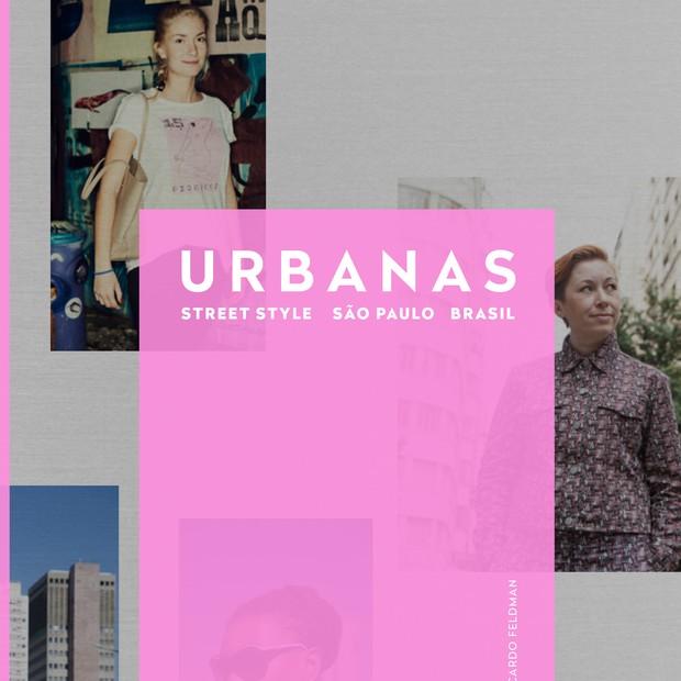 Capa do livro do projeto Urbanas (Foto: Divulgação)