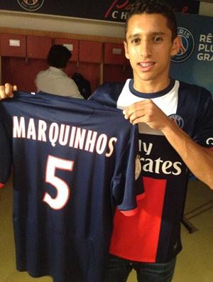 Marquinhos PSG (Foto: Globoesporte.com)