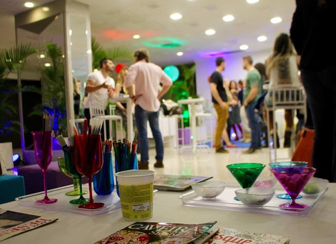Muita conversa e interação rolando entre os candidatos de Porto Alegre  (Foto: Gshow)