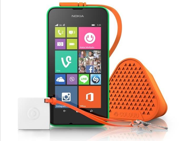 Lumia 530 chega equipado com processador quad-core e Windows Phone 8.1 Cyan (Foto: Divulgação/Microsoft)
