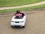 Rodrigão mostra as habilidades do filho, Rodriguinho, ao 'volante'