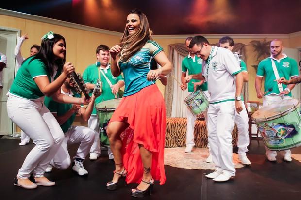 Viviane ARaújo (Foto: Manuela Scarpa/ Ag. Brazil News)
