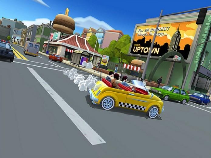 Crazy Taxi: City Rush. (Foto: Divulgação)