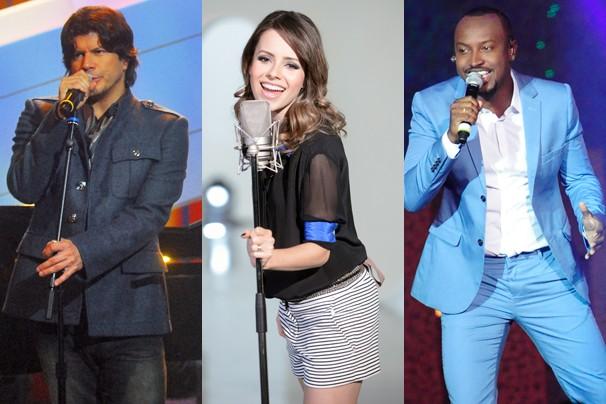 Paulo Ricardo, Sandy e Thiaguinho são os novos jurados do SuperStar (Foto: Globo)