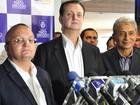 Prefeitos aproveitam visita de Kassab em MT para cobrar verba da União