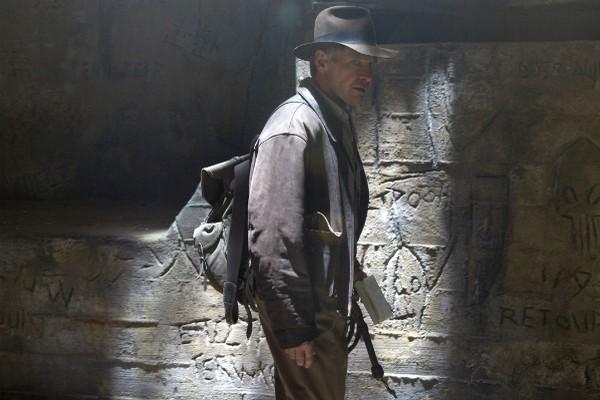 Harrison Ford em cena de 'Indiana Jones e o Reino da Caveira de Cristal' (2008) (Foto: Divulgação)