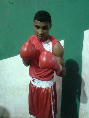 O pugilista Guydson Pereira conquista a prata no Brasileiro de Boxe (Foto: Divulgação)