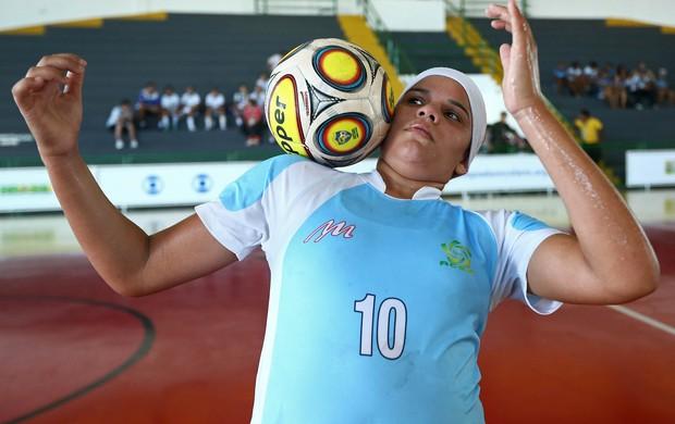 Nairelly Espírito Santo futsal (Foto: Heuler Andrey/AGIF/COB)